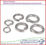 DIN plaqué zinc 127b de la rondelle élastique de blocage