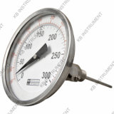 Tutto lo Stainless Steel Bimetal Thermometer Angle Registrabile 0+300c