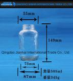 frasco de vidro do Kitchenware 100-500ml para o armazenamento do alimento