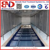 1020kw Air Circulation Bogie Hearth Furnaces for Heat Treatment