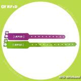 ヘルスケア・システム(GYRFID)のためのWrpp Ntag213 RFID水証拠のブレスレット