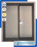Doble Acristalamiento ventana corrediza de aluminio con precio barato
