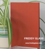 vidro Tempered vermelho da geada de 2-12mm para o vidro da porta do chuveiro