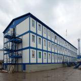 Hogares de varios pisos prefabricados del envase con la certificación del Ce