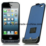 iPhone 5/5s를 위한 2200mAh Portable Rechargeable External Battery Charger Case