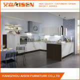 装飾的なカスタムホーム台所家具PVC膜の食器棚