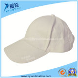 Casquettes de baseball de sublimation de coton (blanc)