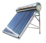 De integratie niet Onder druk gezette ZonneVerwarmer van het Water met ZonneKeymark