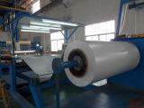 La bobina de aluminio con recubrimiento de color plata