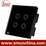 4 Black chiave Simple Touch e Remote Control Switch