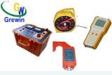 Equipamento de teste da potência de cinco baterias alcalinas do AA/transmissor aéreos