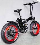 Gran Poder Fat Tire 20 pulgadas plegable eléctrico de la bicicleta de montaña