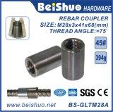 Acoplador de Rebar Acoplador de encadernação de aço / encadernador de vergalhão para construção