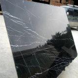 中国黒いNero Marquinaの大理石の平板