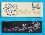 Etiqueta personalizada tecidos vestuário / Bordados / Impressos