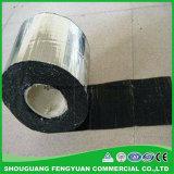 Cubrir la cinta que contellea de aluminio usada, cinta del betún