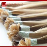 Da queratina reta de Italy do Virgin de Remy extensões Pre-Ligadas do cabelo humano da vara