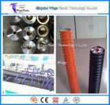 Производственная линия трубопровода HDPE Corrugated оптическая/машина трубы трески прессуя