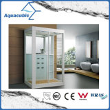 O quarto de chuveiro de vidro do banheiro luxuoso e termina o cerco do chuveiro (AS-B03S)