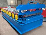 Roulis de panneau de toit de couture de position de feuillard de pression hydraulique formant la machine