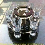 Sostenedor de taza de acrílico giratorio popular