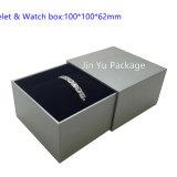 Jy-Jb59 het Verpakkende Vakje van de Juwelen van de Gift van het Leer van het Document van de douane van het Geval van het Vakje van de Armband van de Halsband van het Horloge van de Oorring van de Ring