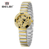 Horloge van het Kwarts van de Gesp van de Juwelen van de Wijzerplaat van de Luxe van de Vrije tijd van Belbi het Kleine Waterdichte