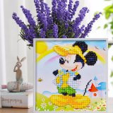 Factory Direct Wholesale Enfants DIY Crystal peinture à l'huile cadre photo FT-014