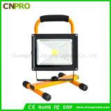 50W Recarregável Holofote Camping luzes LED de luz portátil com 5V Bateria Recarregável