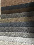 270GSM 100%poliéster tejido llano Sofá tela con revestimiento