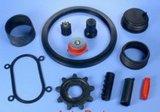 De rubber Cilindrische Onderstellen van de Spoelen van de AntiTrilling Mounting//Rubber Rubber