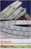 5050 60LED/M 220V 14.4W LED 고전압 유연한 지구