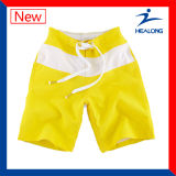 Shorts feitos sob encomenda da praia do Sublimation do verão do Mens de Healong (cuecas)