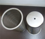 Malla de alambre tejido de malla de cable de pantalla filtro cilíndrico/Cartucho