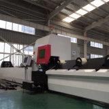 Máquina de corte laser profissional para tubos redondos / quadrados