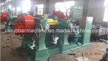 Moinho de triturador de borracha de 18 polegadas para reciclagem de pneus de resíduos / moinho de borracha Cracker