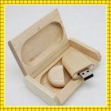Madera del palillo del USB de la capacidad plena (GC-S027)