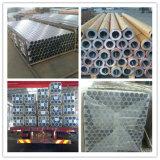 Tubo di alluminio anodizzato, tubo T6, tubo di alluminio dell'alluminio 6061