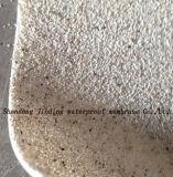 HDPE imperméable à l'eau auto-adhésif de membrane avec le sable de réaction