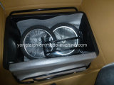 Reboque de bicicleta certificado CE com bandeja de 90 l de poli