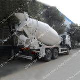 HOWO 상표 12cbm 3 차축 6X4 구체 믹서 트럭