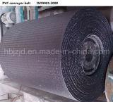 Banda transportadora resistente al fuego tejida sólida de PVC1250s