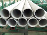 Pipes sans couture de l'acier inoxydable Tp321
