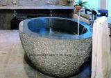 Классическая естественная каменная ванна горячего ушата мрамора гранита для ванной комнаты