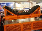 鉱山のためのベルト・コンベヤーのローラー、産業鋼鉄ローラー、たらいのローラー
