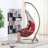 Качание ротанга стула яичка сада вися напольное/Wicker мебель качания (D018)
