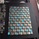 Il bello mosaico, Metal le mattonelle di mosaico di vetro Mixed da vendere