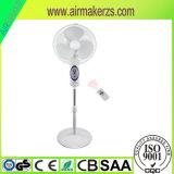 "16 ""Stepless Speed Switch Rechargeable Emergency Solar Ventilateur avec télécommande"