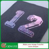 Qingyi Ótimo preço e filme de impressão de transferência de holograma de excelente qualidade para t-shirt