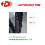 Hochleistungs--Motorrad zerteilt Motorrad-Gummireifen 3.00-17